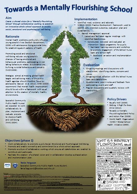 Mentally Flourishing Schools poster