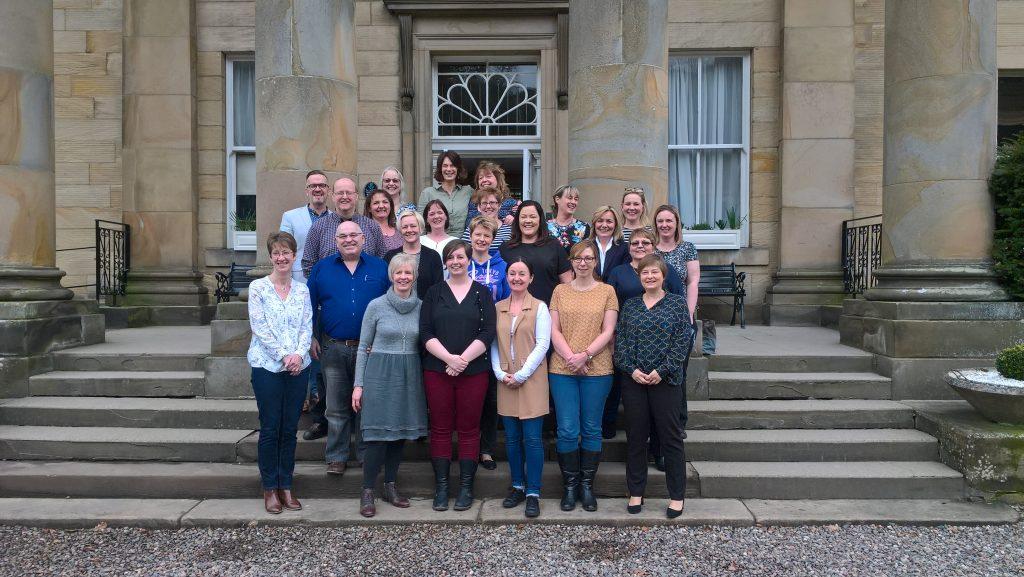 Queen's Nurse Candidates group photo