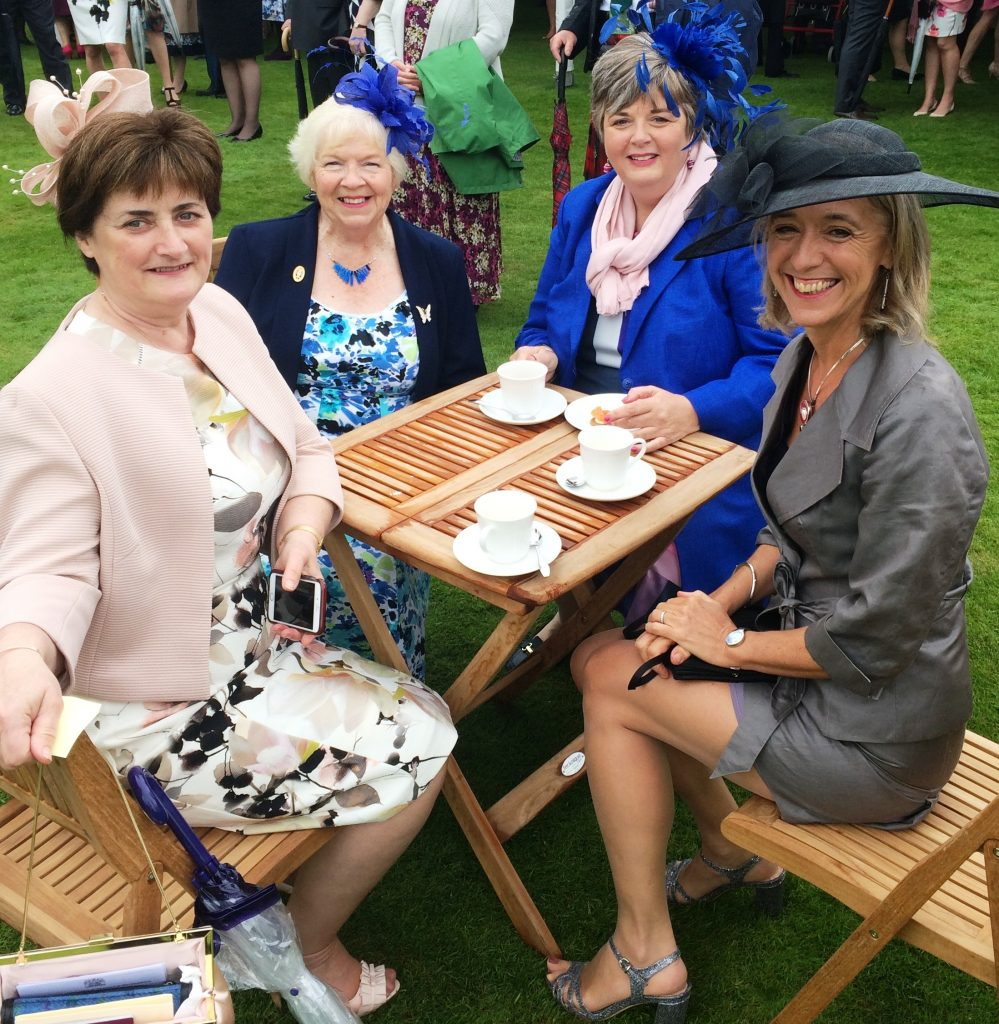 Guests Gather For Royal Garden Party